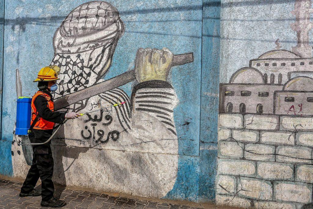 disinfezione a Rafah